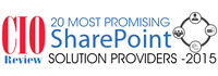 20 Most Promising SharePoint Solution Providers - 2015
