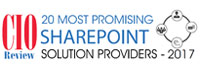 20 Most Promising SharePoint Solution Providers - 2017